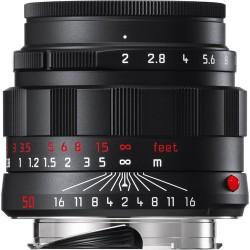 Leica APO-Summicron-M 50mm f/2 ASPH. Lens (Black-Chrome Edition) Brand New