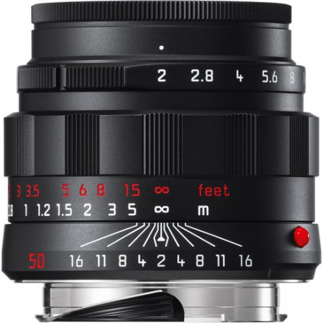 Leica APO-Summicron-M 50mm f/2 ASPH. Lens (Black-Chrome Edition) Brand New