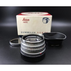 Leica Summilux 35mm F/1.4 Steel Rim