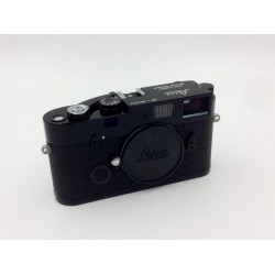 Leica MP A La Carte 0.85 film Camera Body (Black Paint) with classic Top engraving