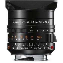 Leica Summilux-M 28mm f/1.4 ASPH. Lens (Black) 11668