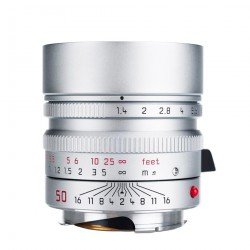 Leica Summilux-M 50mm f/1.4 ASPH. Lens (Silver) 11892