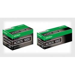 Fujifilm Neopan Acros 100 ll Black and White Negative Film (120 Roll Film)