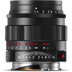 Leica Summilux-M 50mm f/1.4 ASPH. Lens (Black-Chrome Edition) 11688