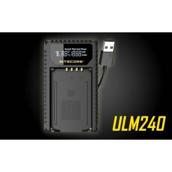 Nitecore ULM240 USB Charger For Leica (New Version)
