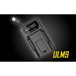 Nitecore ULM9 USB Charger For Leica (New Verison)