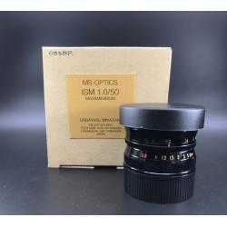 MS-OPTICS ISM 50mm F/1.0 MAX&MINIMUM BLACK PAINT
