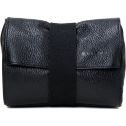 Artisan & Artist Soft Leather Camera Pouch-BLK