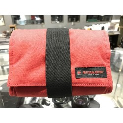 Artisan & Artist Canvas Camera Pouch -Red