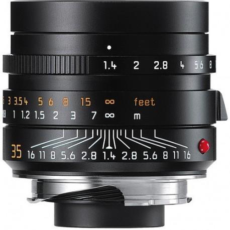 Leica Summilux-M 35mm f/1.4 ASPH. Lens (Black) 11663 Brand New