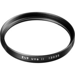 Leica UVa ll E49 Filter Black