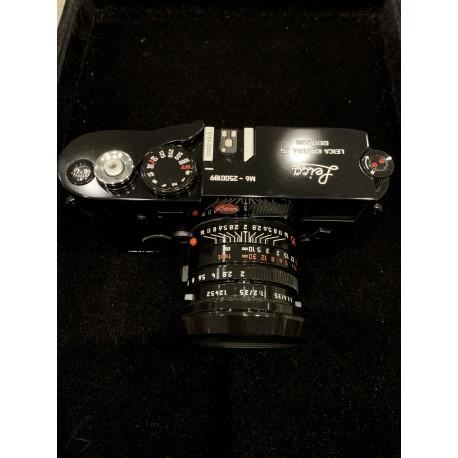 Leica Millennium Black paint set (Leica M6 TTL 0.72 + Leica Summicron 35mm f/2 asph)