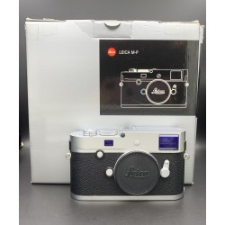 Leica M-P (Typ 240) Digital Rangefinder Camera (Silver Chrome) 10772 (USED)