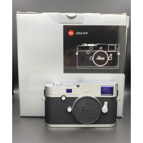 Leica M-P (Typ 240) Digital Rangefinder Camera (Silver Chrome) 10772 (USED)