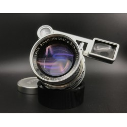 Leica Summicron-M 50mm F/2 DR (Dual Range) + Goggles