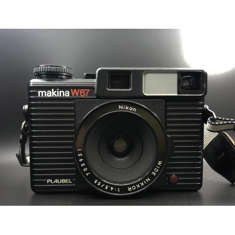 Makina W67 with Wide Nikkor 55mm f/4.5