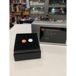 LEICA Soft Release Button ,4x ,'Leica 'red