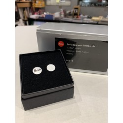 LEICA Soft Release Button ,4x ,'LEICA' chrome ,12mm