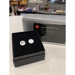 LEICA Soft Release Button ,4x ,'LEICA' chrome ,12mm