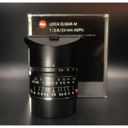 Leica Elmar-M 24mm F/3.8 Asph Black Anodized Finish 11648