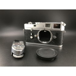 Leica M4 Film Camera Silver With Leica MR Meter