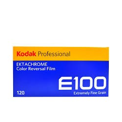 Kodak Professional E100 120 Ektachrome Color Reversal Film