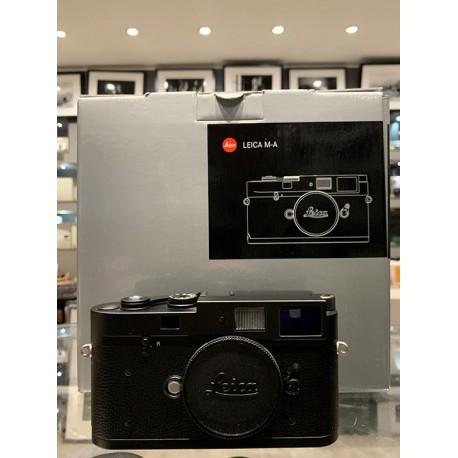 Leica M-A (Typ 127) Rangefinder Camera (Black) 10370 USED