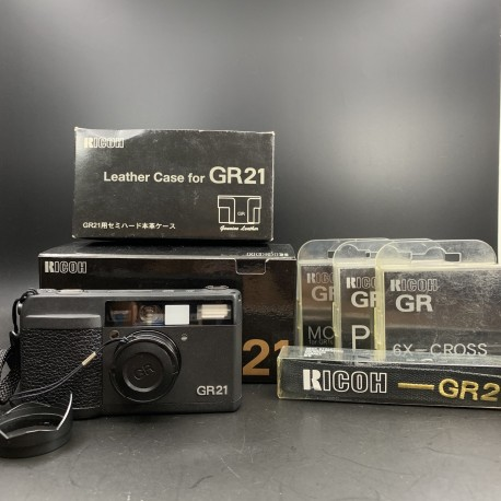 Ricoh GR21 Point & Shoot Film Camera (GR-21)