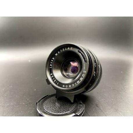 Leica Summicron 35mm F/2 ( 6 element) tab Germany