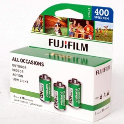 Fujifilm AlLL OCCASIONS 35mm film for color prints x3rolls