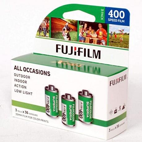 Fujifilm AlLL OCCASIONS 35mm film for color prints x3rolls
