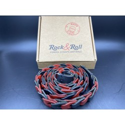 Rock & Roll Camera Straps (Blk & Red)