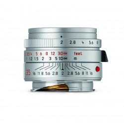 Leica Summocron-M 35mm f/2 ASPH lens (silver)