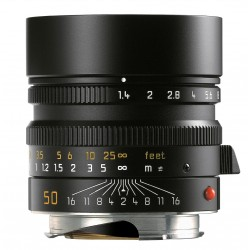 Leica Summilux-M 50mm f/1.4 ASPH Black (11891) Brand New