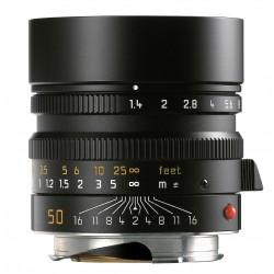 Leica Summilux-M 50mm f/1.4 ASPH Black (11891) Brand New