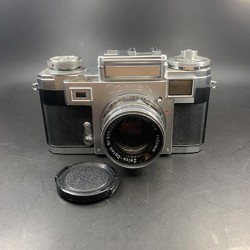 Contax lll A Film Camera With Zeiss-Opton Sonner 50mm F/1.5 Lens