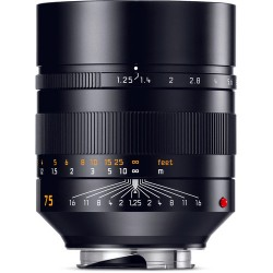 Leica Noctilux-M 75mm f/1.25 ASPH. Lens (11676)