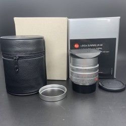 Leica Summicron -M 35mm F/1.4 ASPH Silver 11675 (Used)