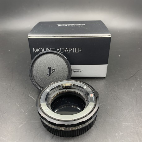 Voigtlander VM-E Close Focus Adapter (used)
