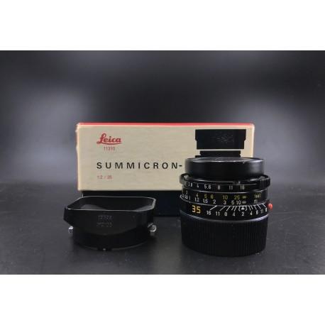 Leica Summicron-M 35mm F/2 v4 (7 Element)