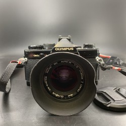 Olympus OM-2n Film Camera With 35mm F/2 Lens