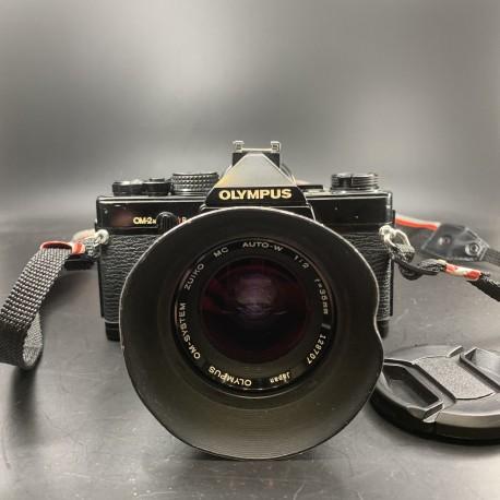Olympus OM-2n Film Camera With 35mm F/2 Lens