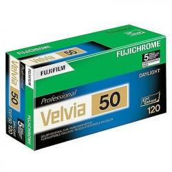 Fujifilm Fujichrome - Velvia 50 ISO Reversal RVP Slide 120 film