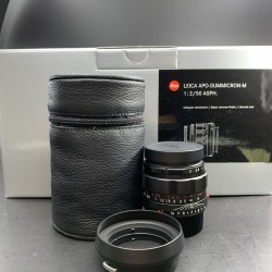Leica APO-Summicron-M 50mm f/2 ASPH. Lens (Black-Chrome Edition)