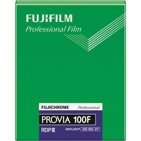"FUJIFILM Fujichrome Provia 100F Professional RDP-III Color Transparency Film (4 x 5"", 20 Sheets)"