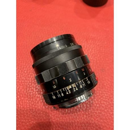 Leica Summilux 50mm F/1.4 V2 Black Paint