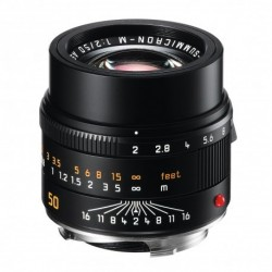 Leica APO-Summicron-M 50mm f/2.0 ASPH black (BRAND NEW 50AA) 50APO