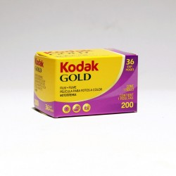 KODAK GOLD 200 35MM FILM (3 rolls)