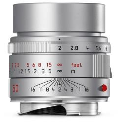 Leica APO-Summicron-M 50mm f/2 ASPH. Lens (Silver Anodized)