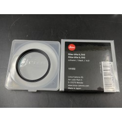 Leica Filter UVa ll E43 Black
